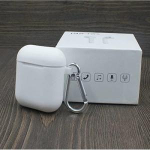 Casti wireless I9S True Twin Stereo White, Compatibile Android & iOS, Conectare BlueTooth, Docking Station [3]