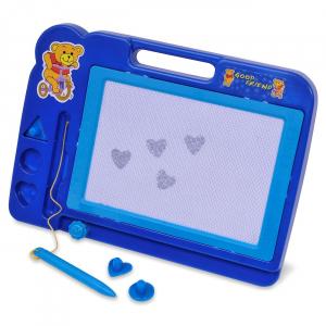 Tabla magnetica copii, South Perfect Decor, culoare albastru, 30x20 cm