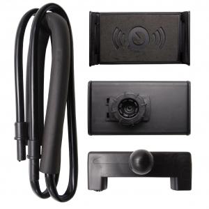Suport universal flexibil Lazy Neck negru pentru telefon [2]