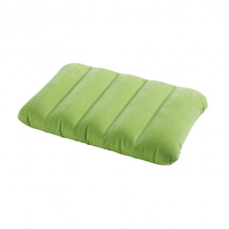 Perna gonflabila pentru camping, Intex 68676NP , verde, 43 x 28 x 9 cm