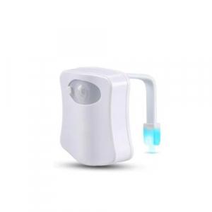 Lampa LED multicolor cu senzor pentru toaleta [0]
