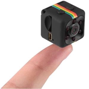 Mini Camera Spion iUni SQ11, Full HD 1080p, Audio Video, Night Vision, TV-Out, Black [0]