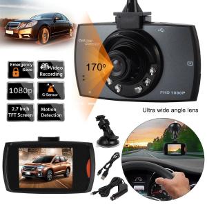Camera video auto DVR Full HD 1080p, ecran 2.7 inch, unghi 170° [1]