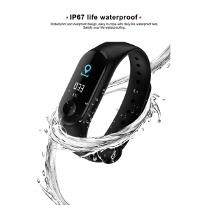 Bratara Fitness M3, ecran TFT 0.96inch, USB, bluetooth, masurare ritm cardiac si alte functii ale organismului [4]