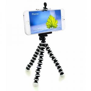 Mini trepied flexibil pentru telefon sau camera video/foto [0]