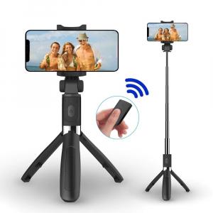 Selfie Stick, Trepied, Suport pentru telefon, 3 in 1, Bluetooth, telecomanda detasabila [0]