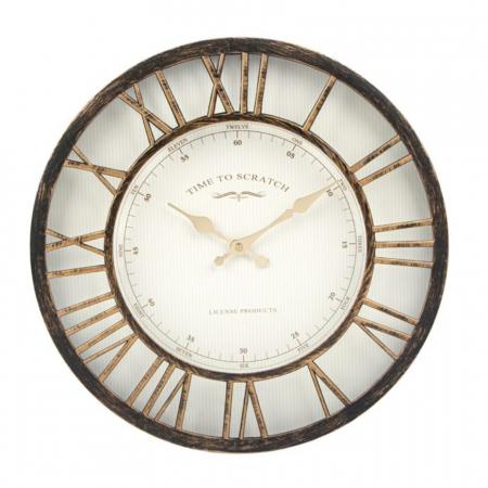"""Ceas decorativ de perete """"Vintage Bronze"""", 41 cm [0]"""