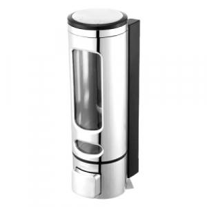 Dispenser sapun lichid, dezinfectant, ABS , 400 ml , Argintiu [1]