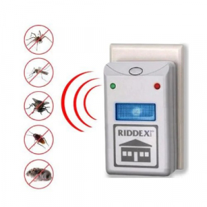 Aparat antidaunatori Riddex Plus Gaia , util pentru suprafete de 100 metri patrati , functie cu ultrasunete, Indeparteaza insectele , animalele mici [0]