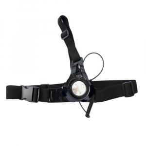 Lanterna portabila pentru piept cu lampa de avertizare pe spate, CREE XRE Q5 [0]