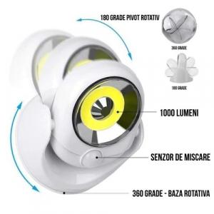 Lampa fara fir cu LED si senzor de miscare, Atomic Light Angel [1]