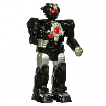 Robot cu miscare, sunete si lumini 20x10x38 cm