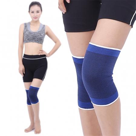 Set 2 genunchiere elastice, orteza genunchi picior, bandaj elastic cu compresie unisex, marime universala