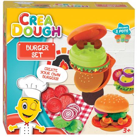Set creatie plastilina, Burger Set