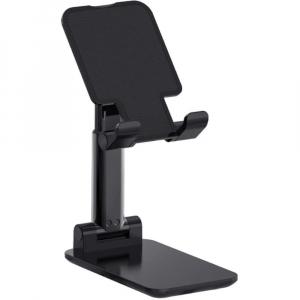 Suport birou telefoane si tablete reglabil aluminiu - Black [0]