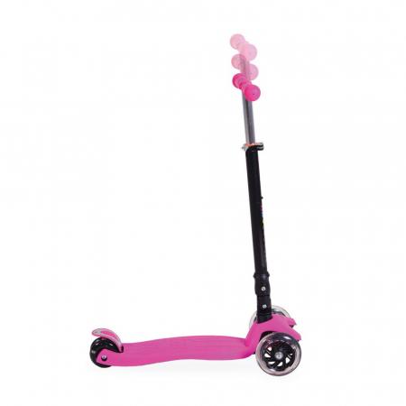 Trotineta Copii Moni ABC Scooter Roz [2]