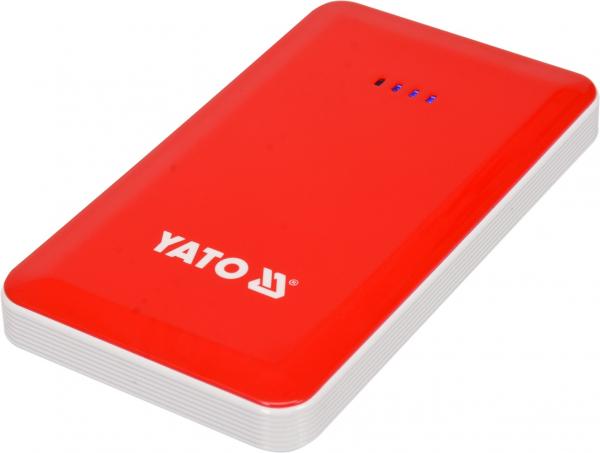 Acumulator Extern YATO, Pentru Pornire/Incarcare Auto, Li-Po, 7500mAh, cu Functie Boost 0