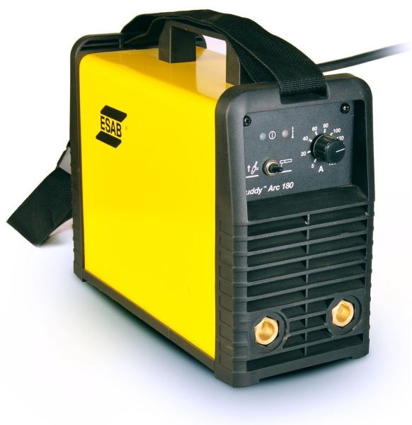 Aparat de sudura tip invertor ESAB, Buddy Arc 180, 230V, 180A, electrod 1.6-4.0mm 0