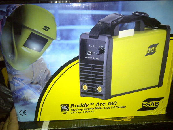 Aparat de sudura tip invertor ESAB, Buddy Arc 180, 230V, 180A, electrod 1.6-4.0mm 2