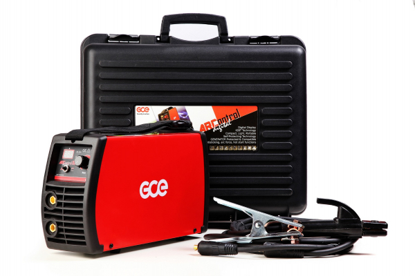Aparat de sudura tip invertor GCE, ArControl digital, 200A, electrod 1.5 - 4mm 0