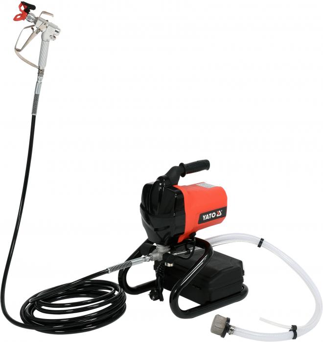 Aparat vopsit electric YATO, 650W, 207Bar, Airless, 7.5m [0]