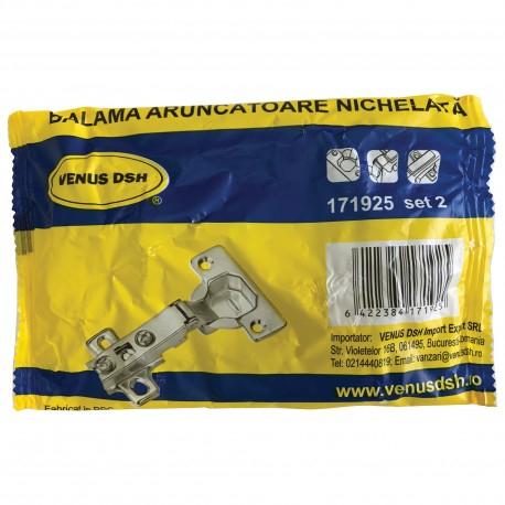 Balama Aruncatoare VENUS DSH, Nichelata, Set 2 Buc 1