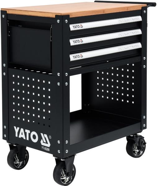 Banc de Lucru Profesional YATO, 3 sertare, Echipat ,162 piese [3]