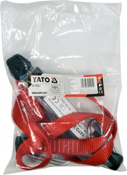 Banda de sustinere YATO, cu amortizor, 1800mm 3