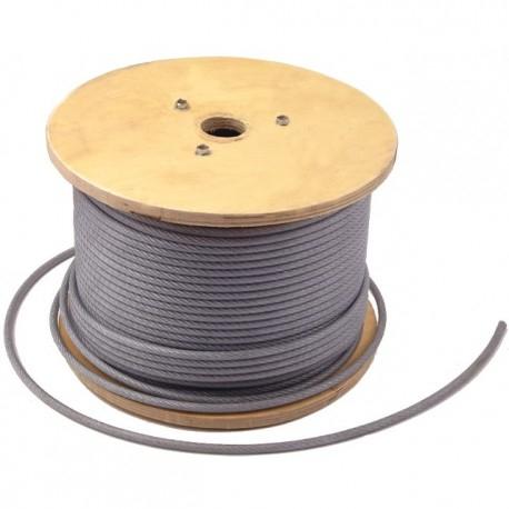 Cablu otel plastifiat VENUS DSH, 3/4.5mm, tambur 200m [0]