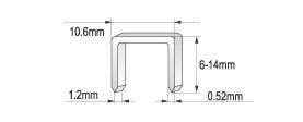 Capsator Mecanic YATO, Tip Ciocan, 6 - 10mm 2