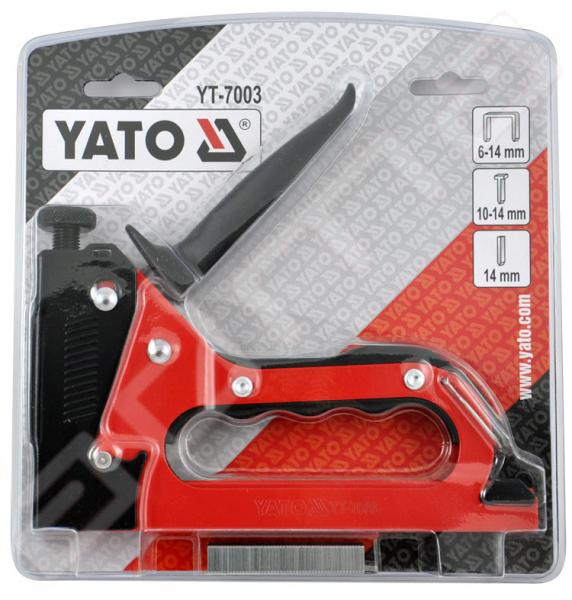 Capsator Tapiterie YATO, 3 in 1, 6 - 14mm 2