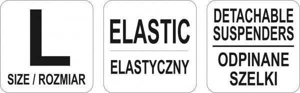 Centura elastica YATO, cu bretele, marime L [3]