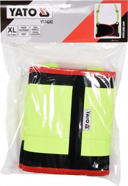 Centura elastica YATO, cu bretele, marime XL 2