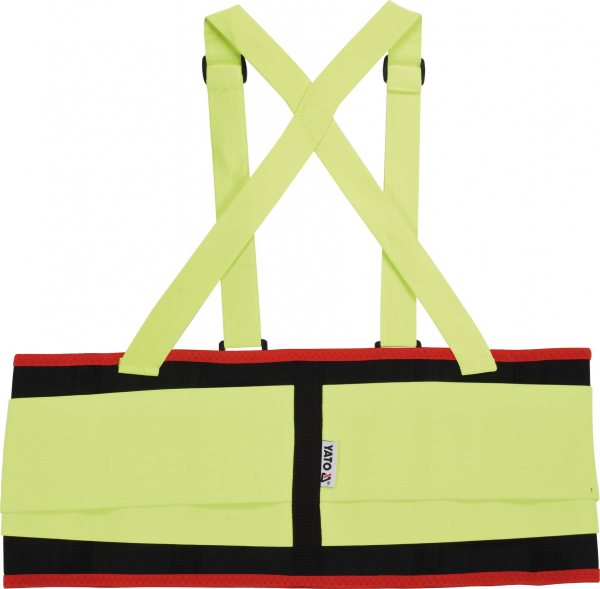 Centura elastica YATO, cu bretele, marime XL 1