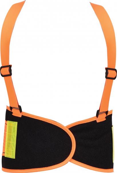 Centura elastica YATO, cu bretele, negru/portocaliu, marime XL 0