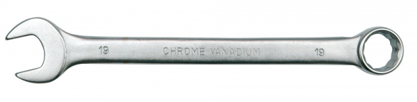 Cheie combinata VOREL, satinata, CrV, 19 mm 0