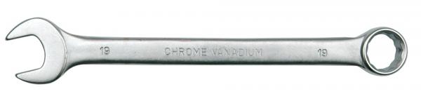 Cheie combinata VOREL, satinata, CrV, 28 mm 0