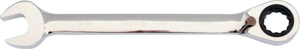 Cheie Combinata YATO, cu Clichet, Buton Schimbare Directie, 72T, CR-V, 9 mm 0