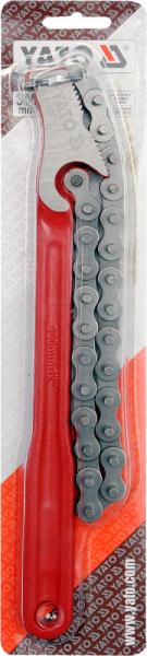 Cheie cu Lant YATO, Pentru Tevi, 4 inch, 300mm [1]