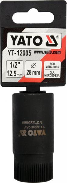 Cheie Tubulara YATO, Anticamera Pompa Injectie, MERCEDES, 1/2, 28mm [1]