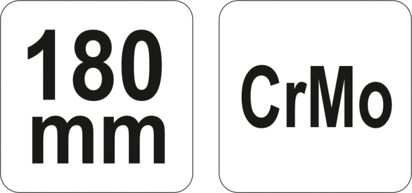 Cleste Autoblocant YATO, Pentru Sudura, 180mm 2