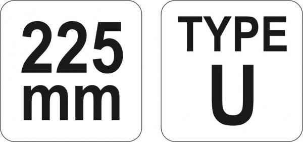 Cleste Autoblocant YATO, Pentru Sudura, 225mm [3]