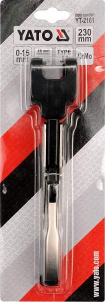 Cleste Autoblocant YATO, Pentru Tinichigerie, Tip JJ, 0 - 15mm, 230mm 2