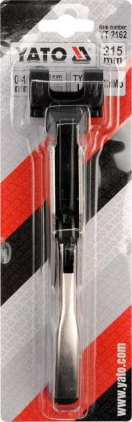 Cleste Autoblocant YATO, Pentru Tinichigerie, Tip LL, 0 - 10mm, 215mm 2