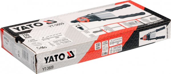 Cleste Popnituri YATO, 3.2 - 6.4mm, 330mm 1