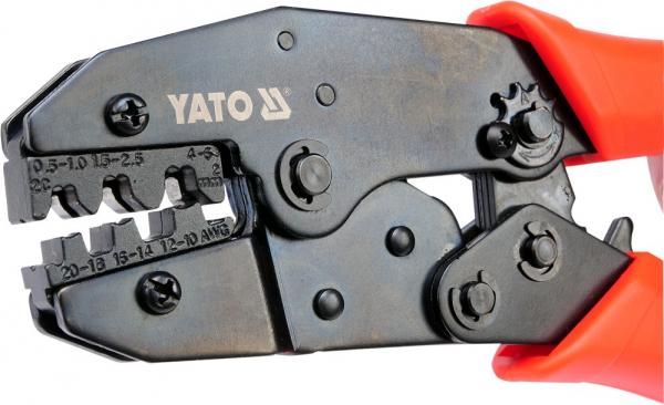 Cleste Sertizat YATO, Pentru Conectori, 0.5 - 6mm [1]