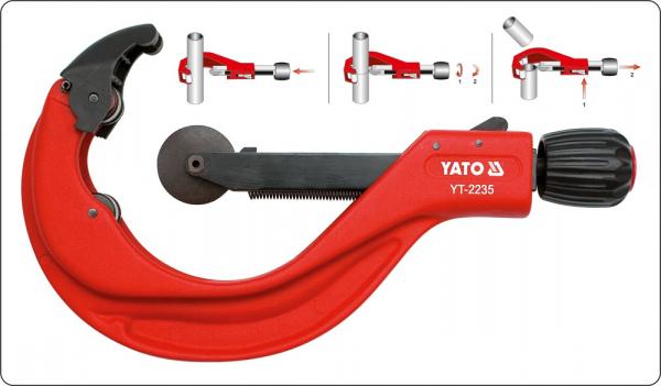 Cleste Taietor Tevi YATO, 2-5, 50 - 127mm 2