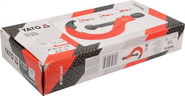 Cleste Taietor Tevi YATO, 2-5, 50 - 127mm 1