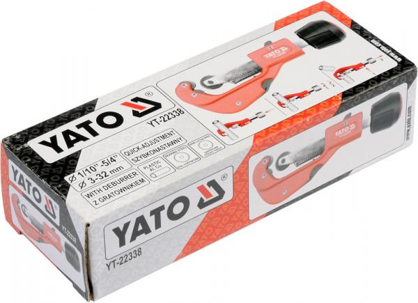 Cleste Taietor YATO, Pentru Tevi, 1/10, 5/4, 3 - 32mm [1]