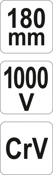 Cleste Taietor YATO, VDE, 1000V, 180mm [4]